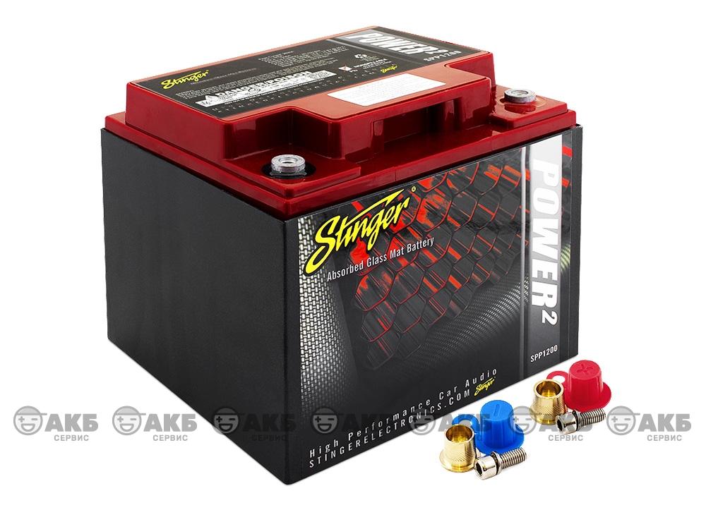 AGM аккумулятор Stinger SPP1200