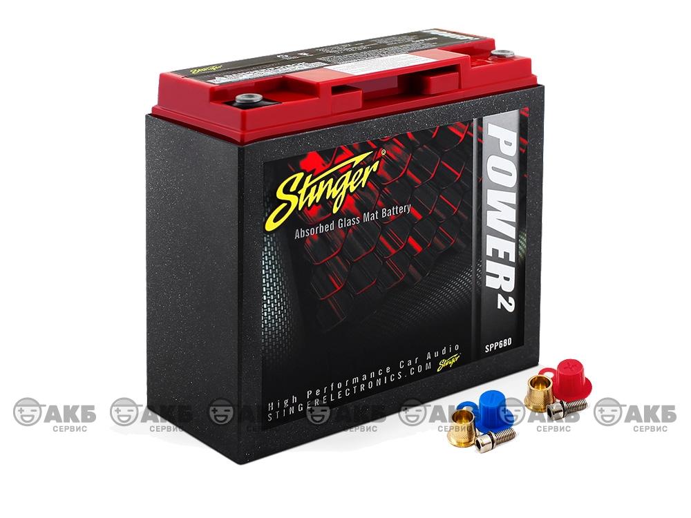 AGM аккумулятор Stinger SPP680