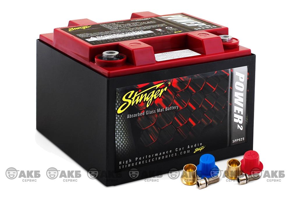 AGM аккумулятор Stinger SPP925