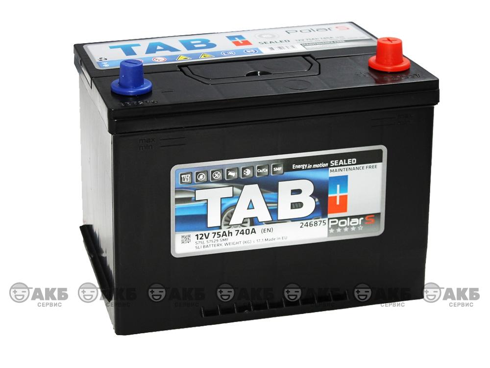 АКБ TAB Polar S JIS 75 А/ч