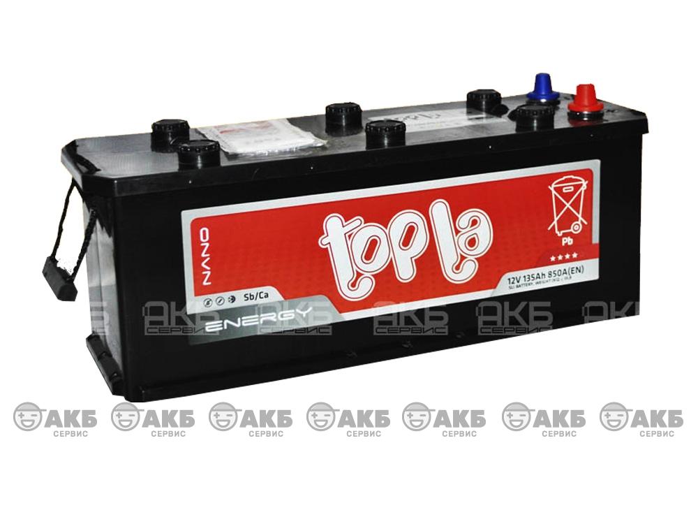 Авто аккумулятор Topla 6СТ-135 А/ч, обратная полярность