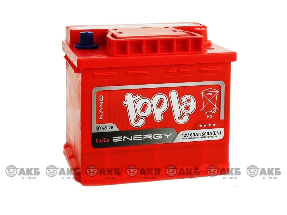 Авто аккумулятор Topla 60 А/ч Uni