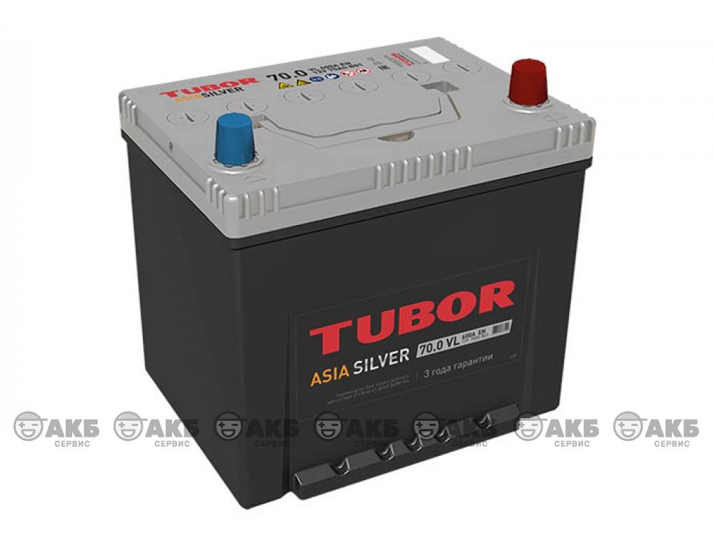 Аккумуляторная батарея TUBOR ASIA SILVER 70 о.п.
