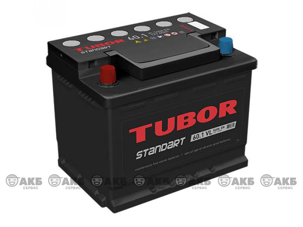 Аккумулятор TUBOR STANDART 60 п.п.