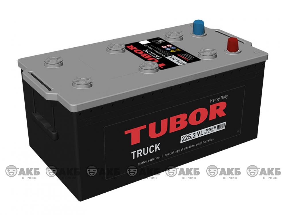 Аккумулятор TUBOR TRUCK 225 а/ч обратная полярность