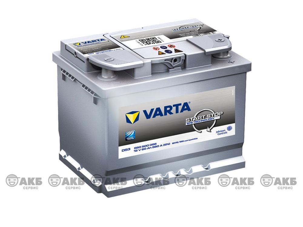 Авто аккумулятор Varta Start-Stop D53