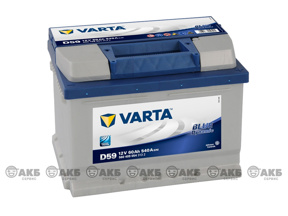 Купить авто аккумулятор Varta Blue dynamic