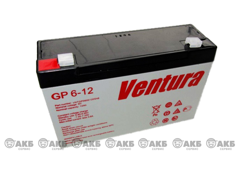 АКБ Ventura GP 6-12
